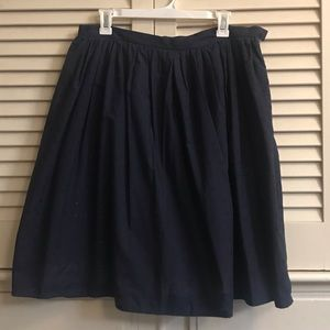 Isaac Mizrahi for target skirt in navy size 8